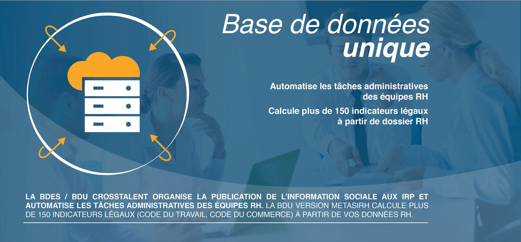 BANNIERE APLLICATION BASE DE DONNEES UNIQUE CROSSTALENT