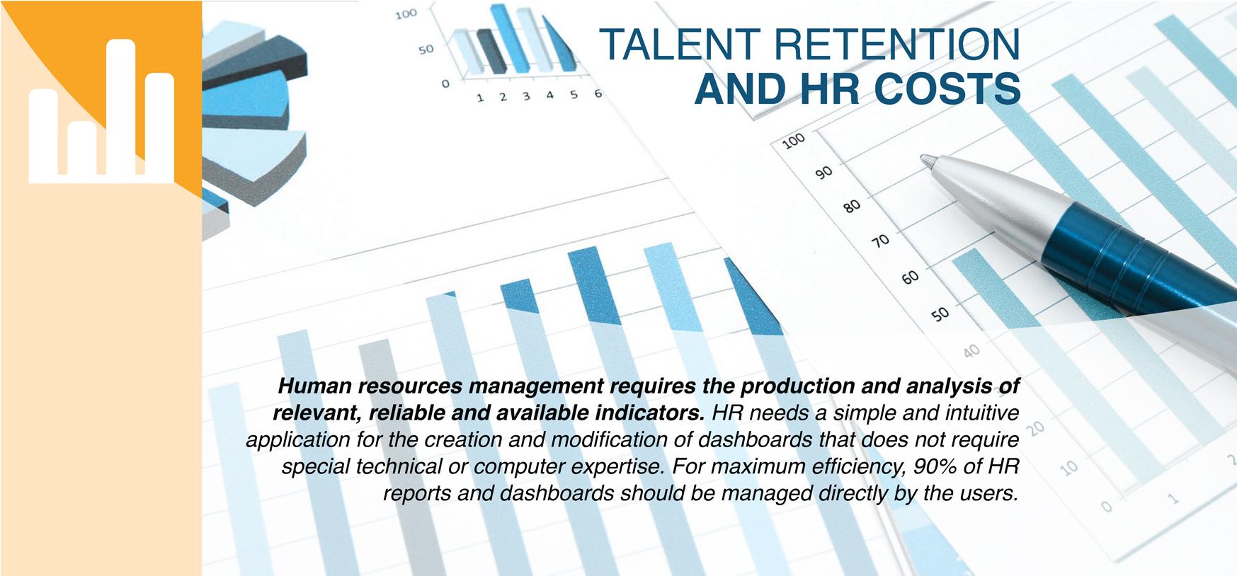 BANNER Talent retention & HR costs