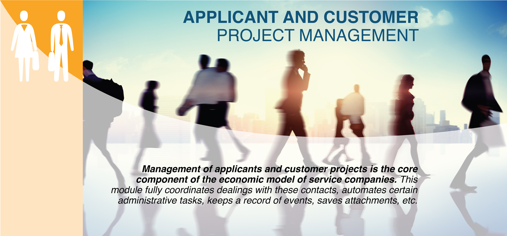 BANNER APPLICANT AND CUSTOMER PROJECT MANAGEMENT