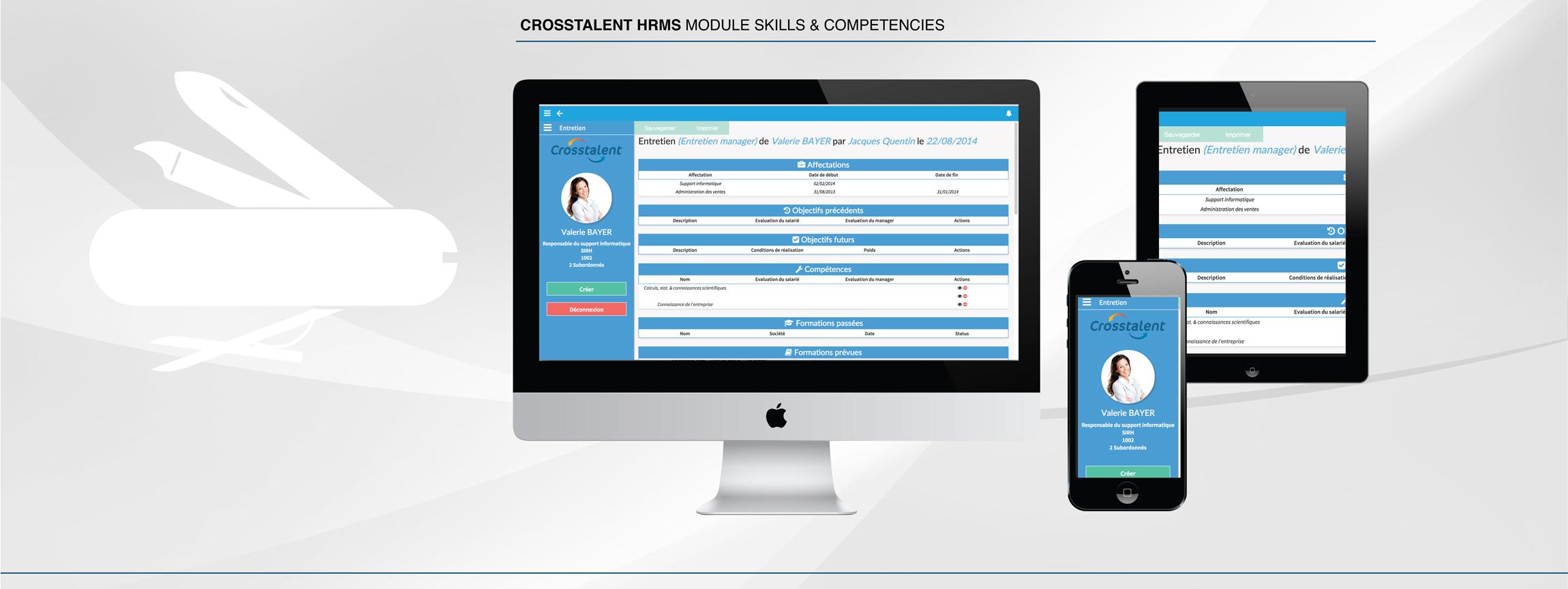 Screenshot Skills & Competencies