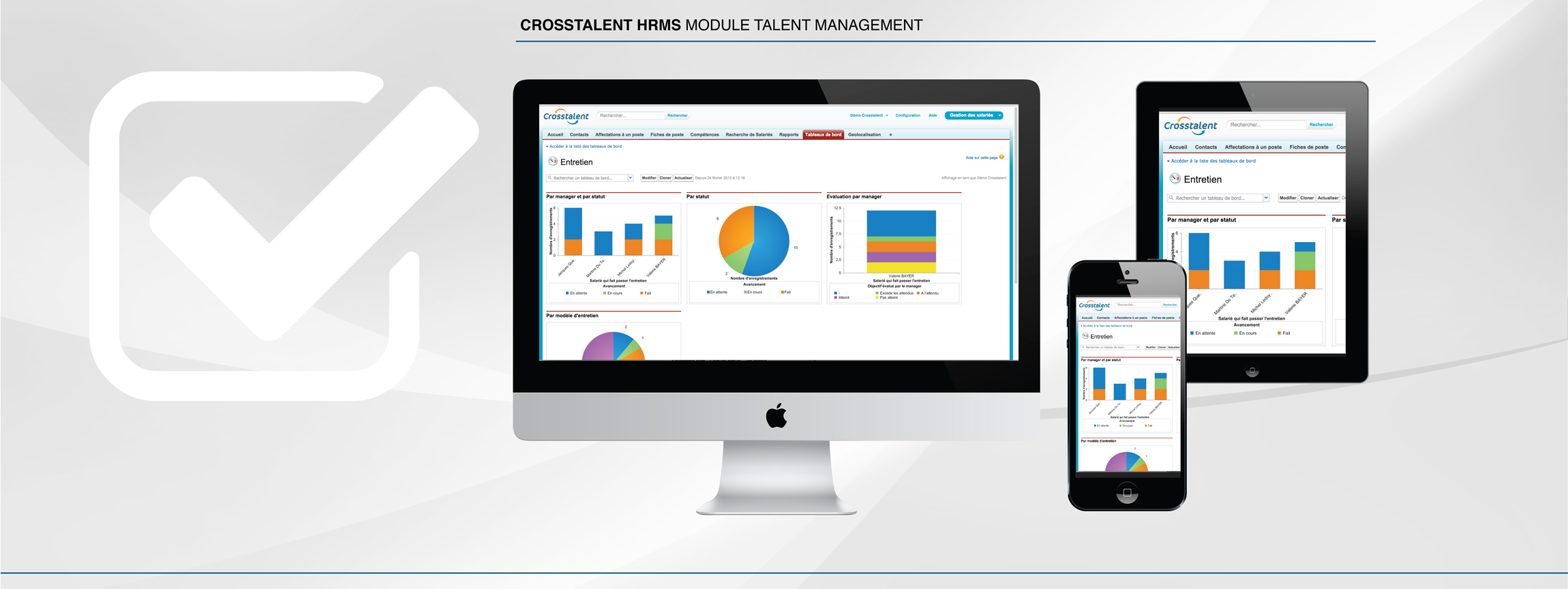 Screenshot Performance Management