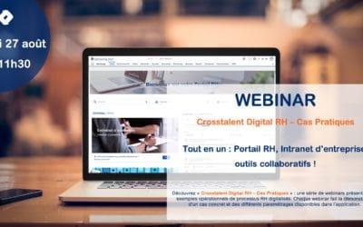 Webinar – «Tout en un : Portail RH, Intranet d'entreprise, outils collaboratifs !»
