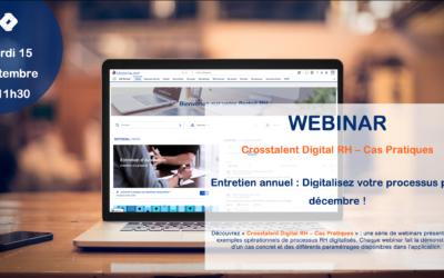 Webinar – «Entretien annuel : Digitalisez votre processus pour décembre !»