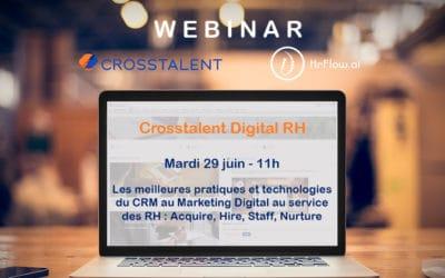 Webinar –Les meilleures pratiques et technologies du CRM et Marketing digital au service des RH
